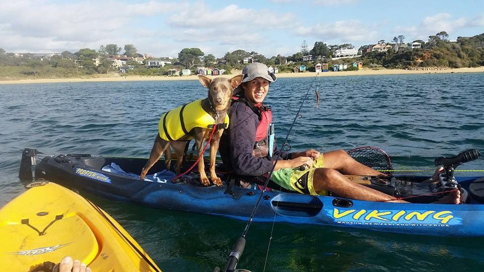 Dave on kayak