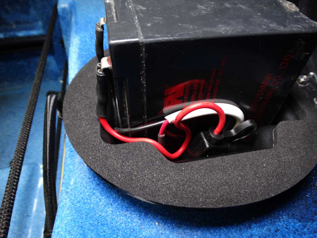 Fuse-holder-wired-in