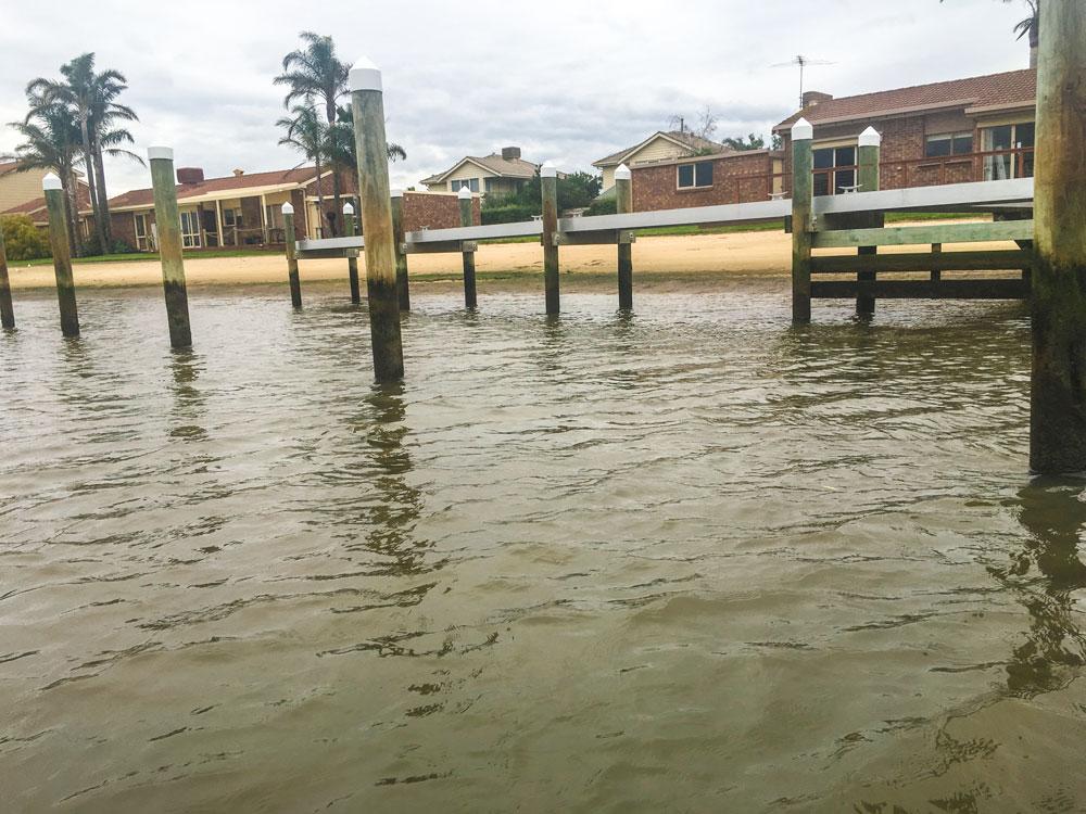 pylons-in-water