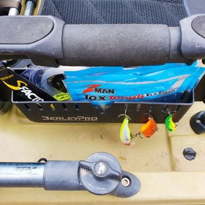 Pro Angler Seat Organiser for Plastics and Leader