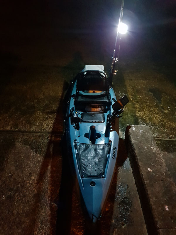 bright kayak fishing light