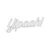 Yipaah Decal
