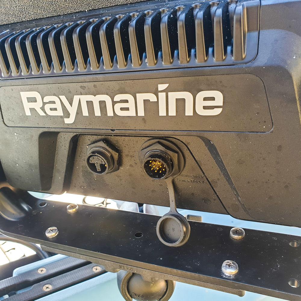 Plugs on back of head unit