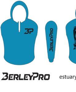 Blue BerleyPro hooded Shirt