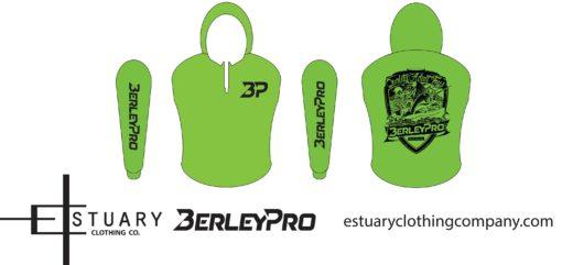 Green BerleyPro Hooded T Shirt
