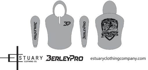Grey BerleyPro hooded Shirt