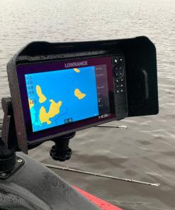 Lowrance HDS9 Live Visor In Situ