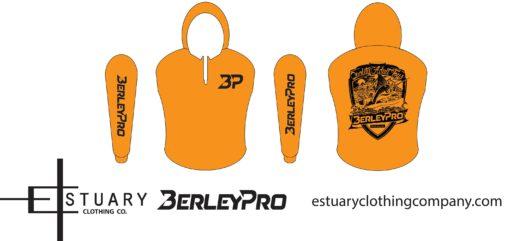 Orange BerleyPro hooded Shirt