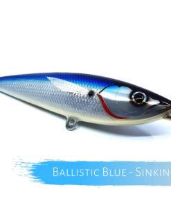 Catch Handmade Stickbait Ballistic Blue