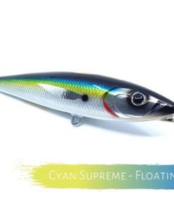 Catch Handmade Stickbait Ballistic Blue Cyan Supreme