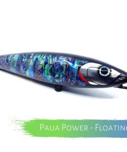 Catch Handmade Stickbait Ballistic Blue Cyan Supreme Mad Mahi Paua Power
